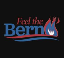 Feel the Bern Flames by shirtual