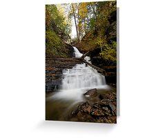 Huron Falls (Autumn) Greeting Card