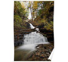 Huron Falls (Autumn) Poster