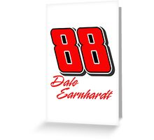 Dale Earnhardt Jr. Greeting Card