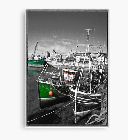 Ramsey Harbour Canvas Print