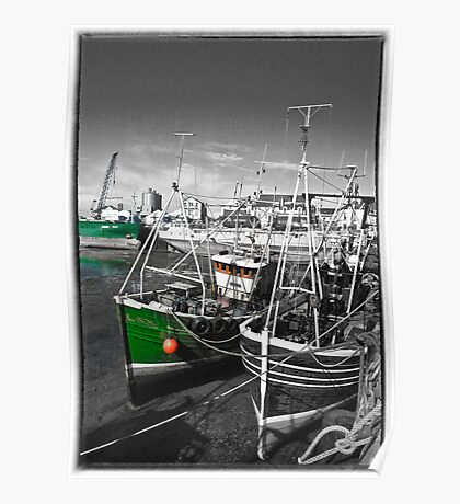 Ramsey Harbour Poster