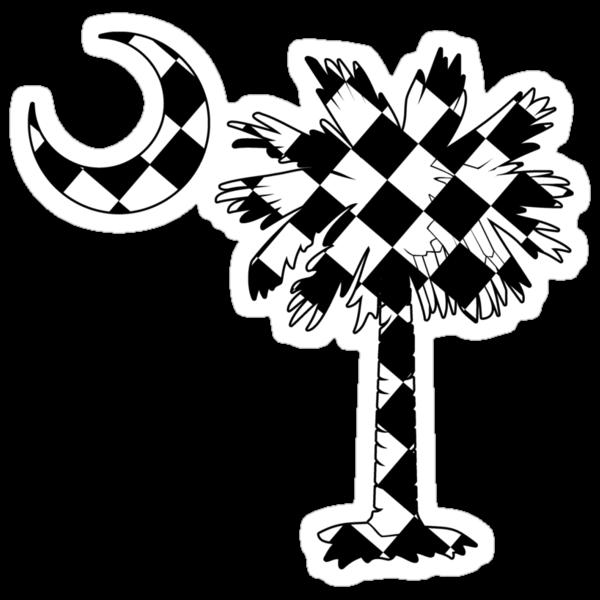 Checkered Flag Palmetto Moon by PalmettoTrading