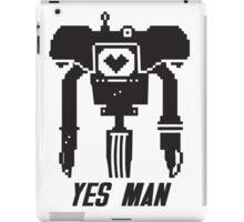 YES MAN: PIXEL VECTOR iPad Case/Skin