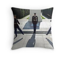 Changing of the Guard Throw Pillow