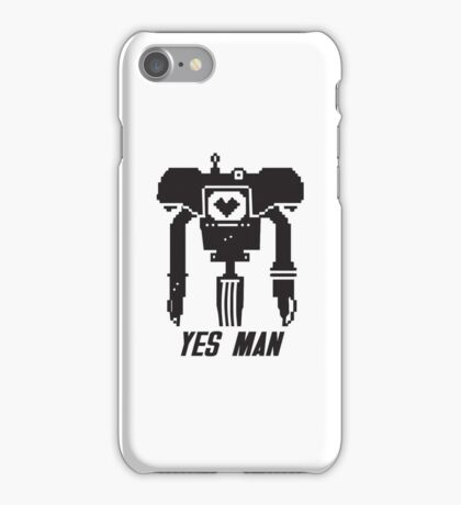 YES MAN: PIXEL VECTOR iPhone Case/Skin