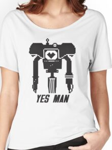 YES MAN: PIXEL VECTOR Women's Relaxed Fit T-Shirt