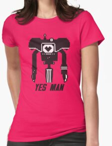 YES MAN: PIXEL VECTOR Womens Fitted T-Shirt