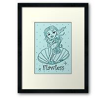 Flawless Framed Print