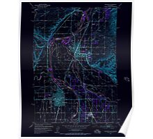 USGS Topo Map Idaho Payette 237582 1951 24000 Inverted Poster