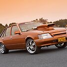 Gold Holden VK Commodore by John Jovic
