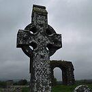 Celtic Cross at Rathkieran,Mooncoin,Co. Kilkenny,Ireland. by Pat Duggan