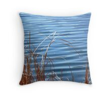 Reeds and Ripples Throw Pillow