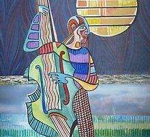 New Moon by Sally Sargent