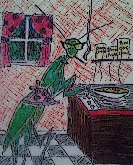 mother mantis by g1bson