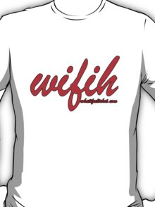 WIFIH 'Plain and Simple' Red T-Shirt
