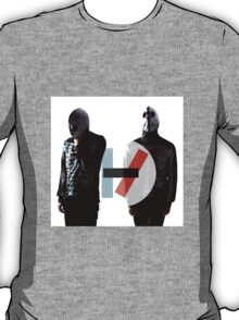 Twenty One Pilots Skeletons and Logo T-Shirt