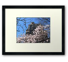 Corner of West 10th Street and Broadway Framed Print