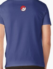 Pokeball (Flat Colors) Mens V-Neck T-Shirt