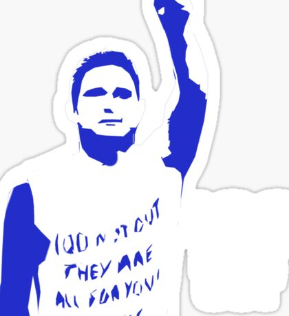 Frank Lampard 100 not out - CFCzone Sticker