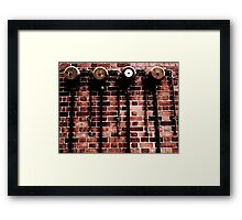 Reliable Sprinkler Framed Print