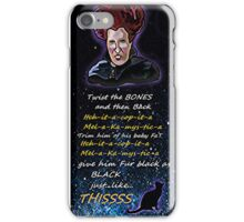 Hocus pocus Twist the bones iPhone Case/Skin