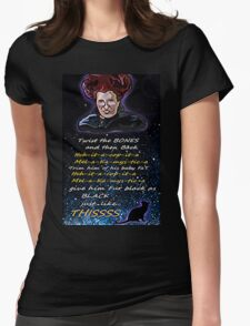 Hocus pocus Twist the bones Womens Fitted T-Shirt
