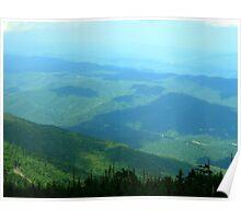 Vista - Smoky Mountains Poster