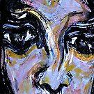 paint's beauty.....sad look by banrai