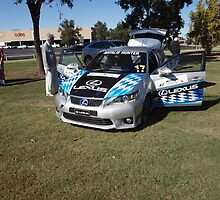 Lexus CT200h F-Sport AGP support race car by Joe Hupp
