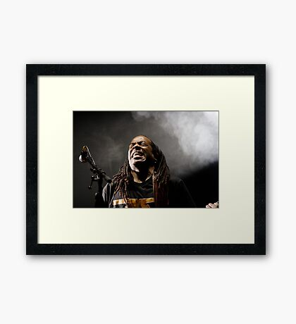 Doug Wimbish. Framed Print