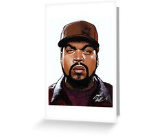 Gangsta Rap Made Me Do It Greeting Card