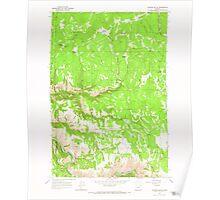 USGS Topo Map Oregon Howard Butte 280257 1964 24000 Poster