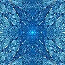 Elliptic Blue  by Beatriz  Cruz
