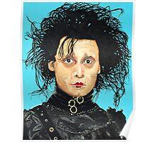 Johnny Depp as Edward Scissorhands Poster
