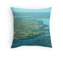 Coongie Lakes Throw Pillow