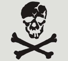 Skull Squadron (black skull) by Mike-Brodu