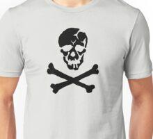 Skull Squadron (black skull) Unisex T-Shirt