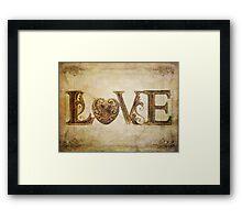 More Love.... Framed Print