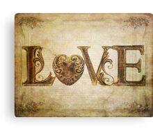 More Love.... Canvas Print
