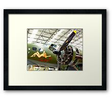 Sally B Winter Service - Duxford Framed Print
