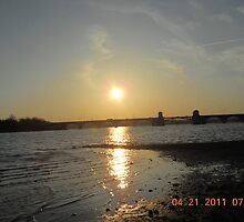 Sunset Port Covington  by steeltrap
