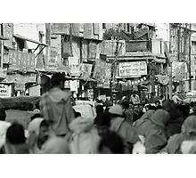Delhi street market Photographic Print