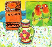 lovebirds  by HelenAmyes