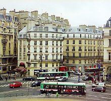 Paris Street  by Alberto  DeJesus