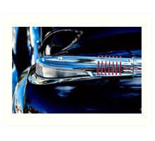 1938 Buick Parking Light Art Print