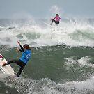 2 girls.... 1 beach.... by Lisa  Kenny