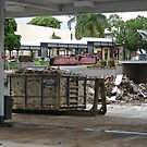 Brisbane Floods 2011 - Clean Up - 7 Eleven by Neil Ross