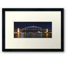 The Bridge - By Night Framed Print
