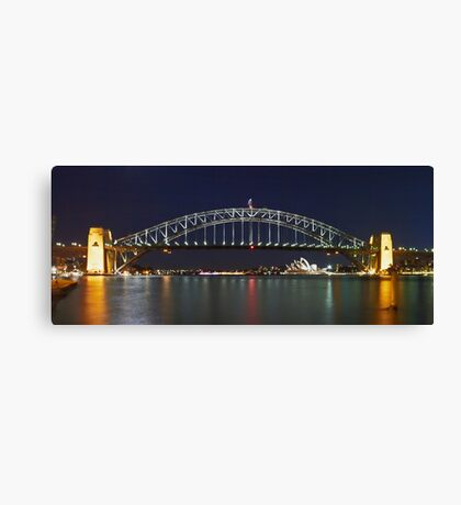 The Bridge - By Night Canvas Print